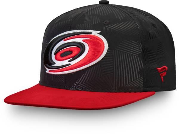 NHL Men's Carolina Hurricanes Iconic Snapback Adjustable Hat product image