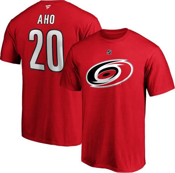 NHL Men's Carolina Hurricanes Sebastian Aho #20 Red Player T-Shirt product image