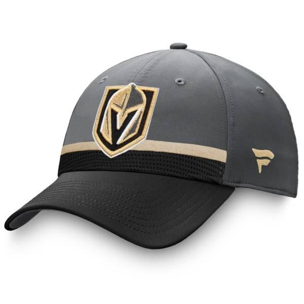NHL Men's Las Vegas Golden Knights Authentic Pro Draft Black Flex Hat product image