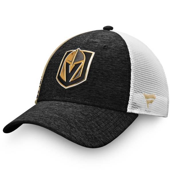 NHL Men's Las Vegas Golden Knights Authentic Pro Locker Room Black Trucker Hat product image