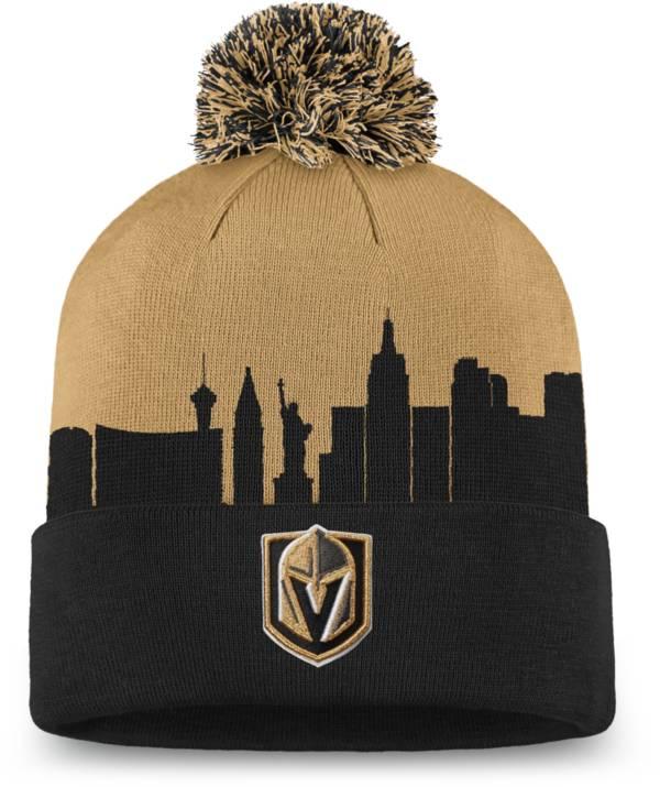 NHL Men's Las Vegas Golden Knights Hometown Black Pom Knit Beanie product image