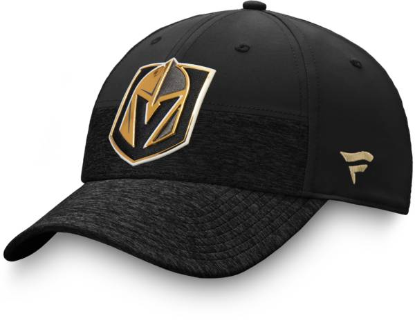 NHL Men's Las Vegas Golden Knights Authentic Pro Locker Room Black Flex Hat product image