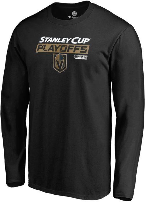 aad21783266 ... 2019 NHL Stanley Cup Playoffs Black Long Sleeve Shirt. noImageFound. 1
