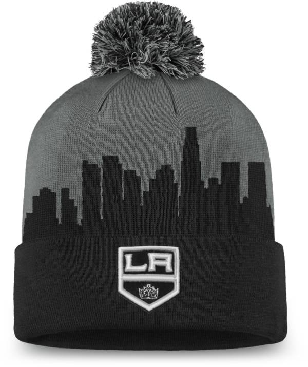NHL Men's Los Angeles Kings Hometown Black Pom Knit Beanie product image
