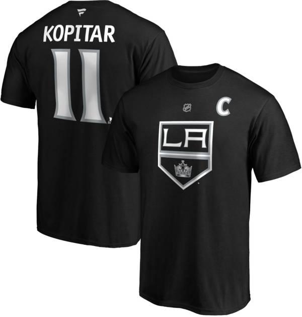 NHL Men's Los Angeles Kings Anze Kopitar #11 Black Player T-Shirt product image