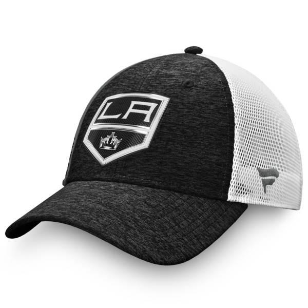 NHL Men's Los Angeles Kings Authentic Pro Locker Room Black Trucker Hat product image