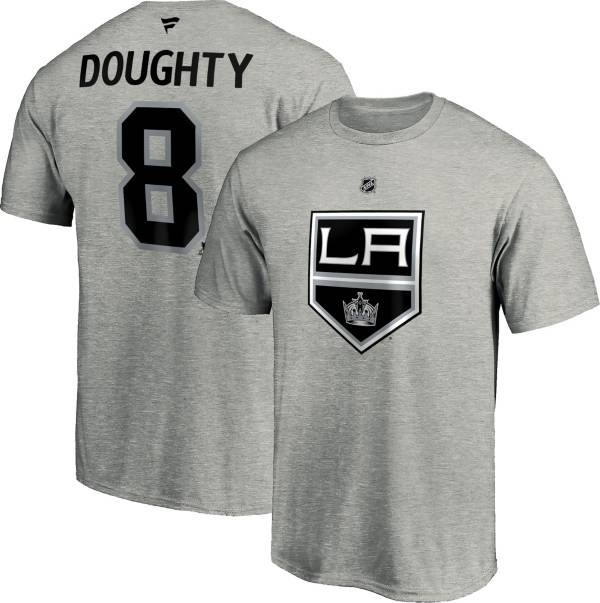 NHL Men's Los Angeles Kings Drew Doughty #8 Grey Player T-Shirt product image
