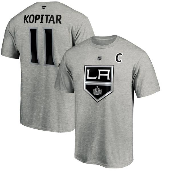 NHL Men's Los Angeles Kings Anze Kopitar #11 Grey Player T-Shirt product image
