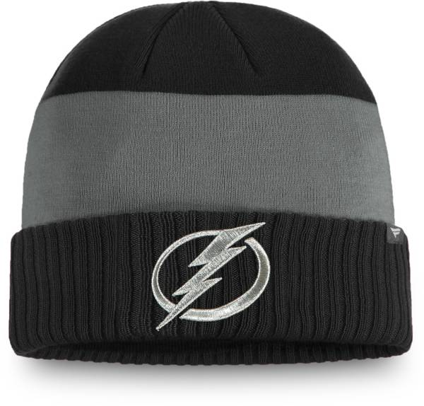 NHL Men's Tampa Bay Lightning Alternate Cuff Knit Beanie product image