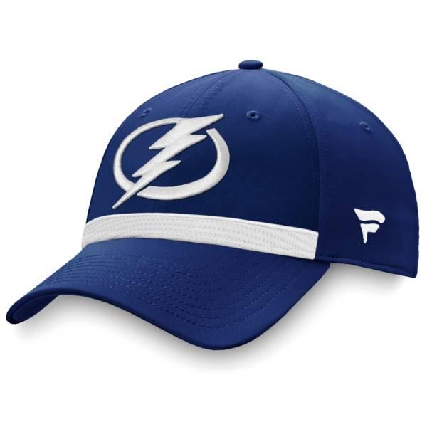 NHL Men's Tampa Bay Lightning Authentic Pro Locker Room Blue Flex Hat product image
