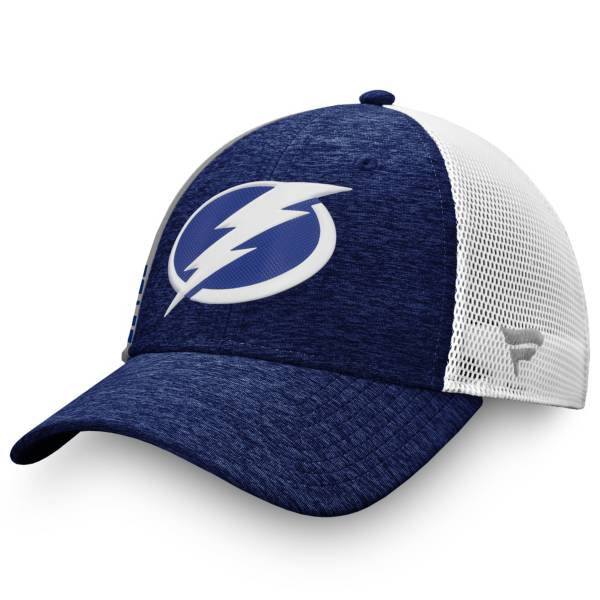NHL Men's Tampa Bay Lightning Authentic Pro Locker Room Blue Trucker Hat product image