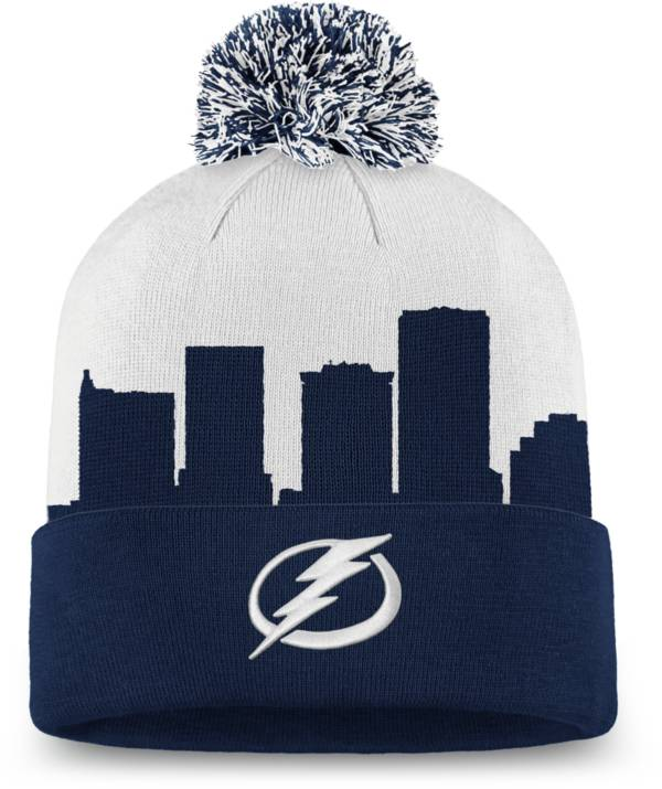 NHL Men's Tampa Bay Lightning Hometown Blue Pom Knit Beanie product image