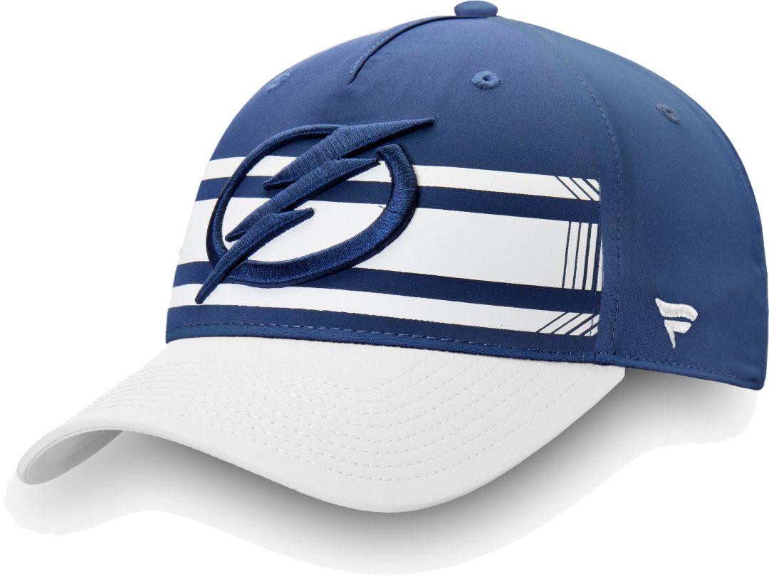 sports shoes 036c3 03ec5 NHL Men s Tampa Bay Lightning Alpha Blue Adjustable Hat