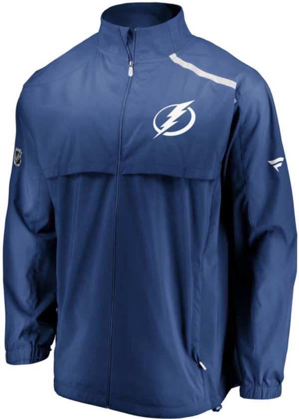 NHL Men's Tampa Bay Lightning Authentic Pro Rinkside Blue Full-Zip Jacket product image