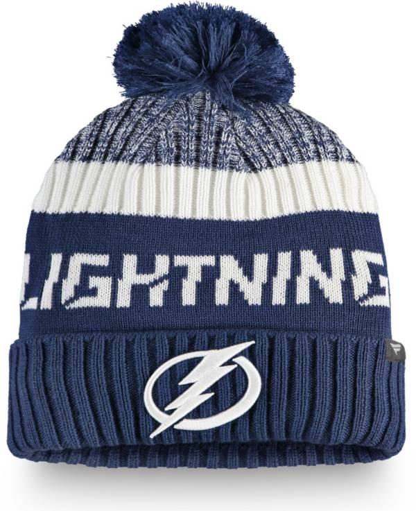 NHL Men's Tampa Bay Lightning Rinkside Pom Knit Beanie product image