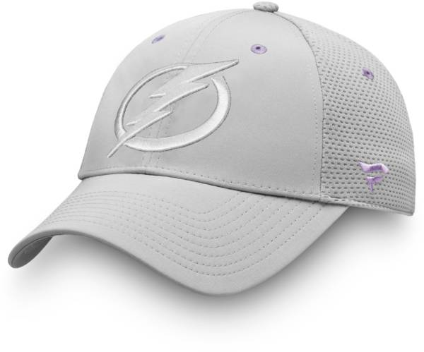 NHL Men's Tampa Bay Lightning Hockey Fights Cancer Snapback Adjustable Hat product image