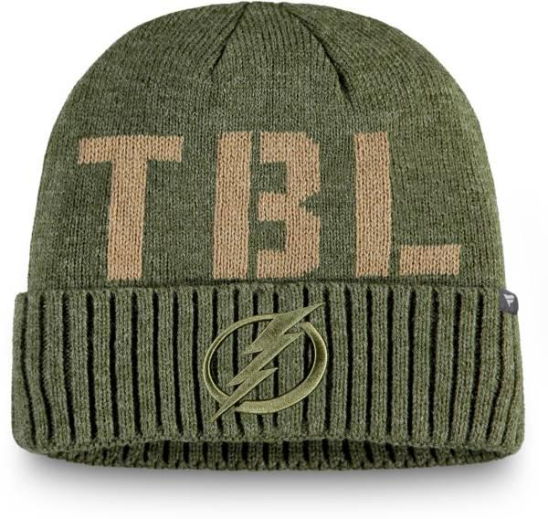 NHL Men's Tampa Bay Lightning Modern Utility Cuff Knit Beanie product image