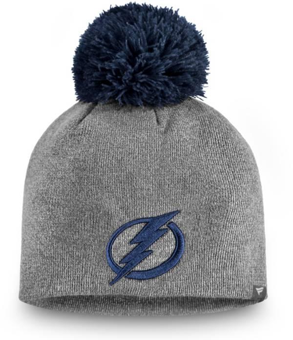 NHL Women's Tampa Bay Lightning Marled Pom Kit Beanie product image