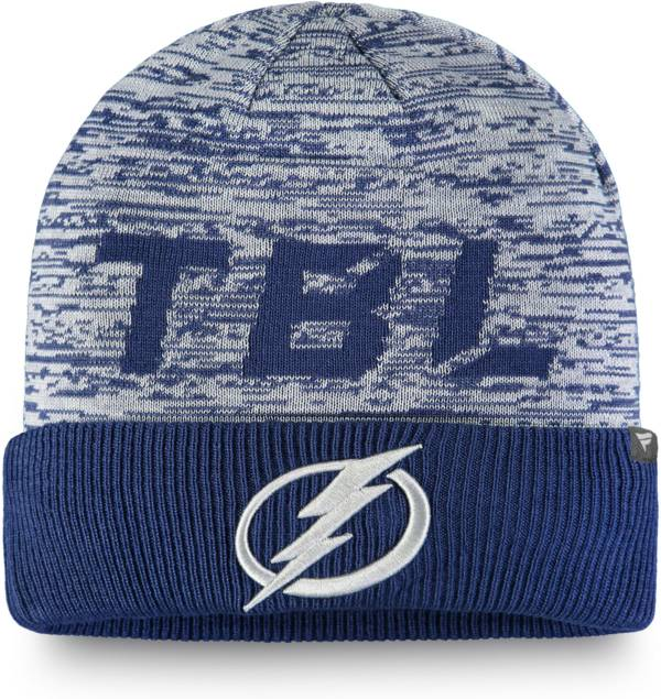 NHL Men's Tampa Bay Lightning Clutch Cuffed Knit Beanie product image