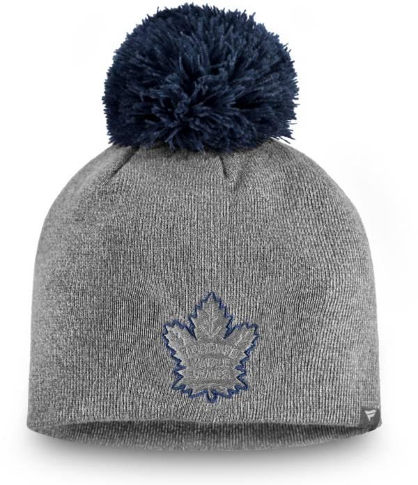 NHL Women's Toronto Maple Leafs Marled Pom Kit Beanie product image