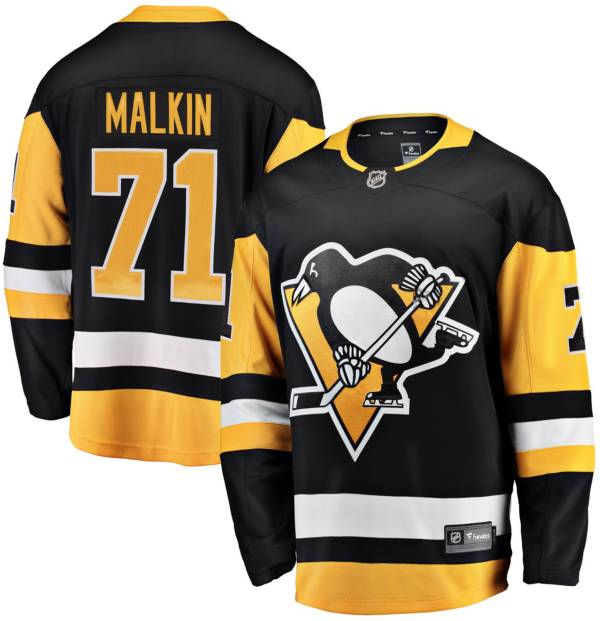 NHL Men's Pittsburgh Penguins Evgeni Malkin #71 Breakaway Home Replica Jersey product image
