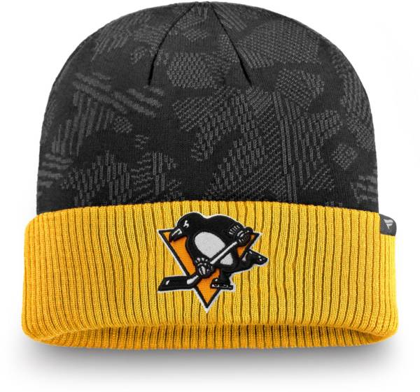 NHL Men's Pittsburgh Penguins Iconic Cuff Knit Beanie product image