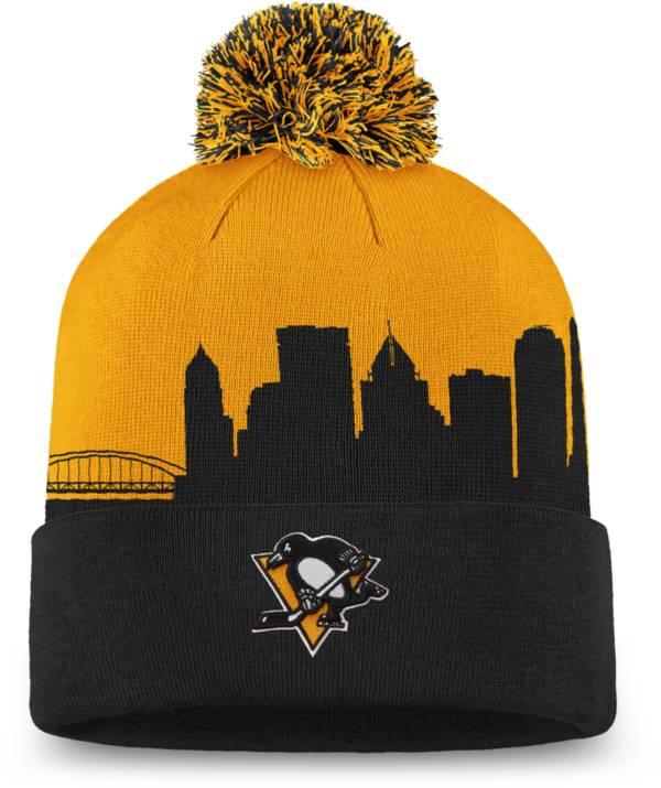 NHL Men's Pittsburgh Penguins Hometown Black Pom Knit Beanie product image