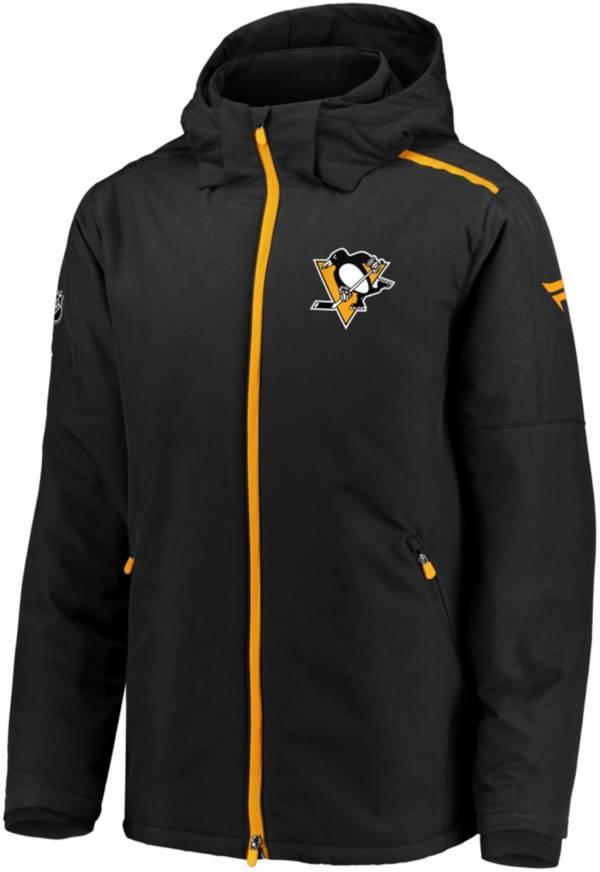 NHL Men's Pittsburgh Penguins Rinkside Premier Black Full-Zip Jacket product image