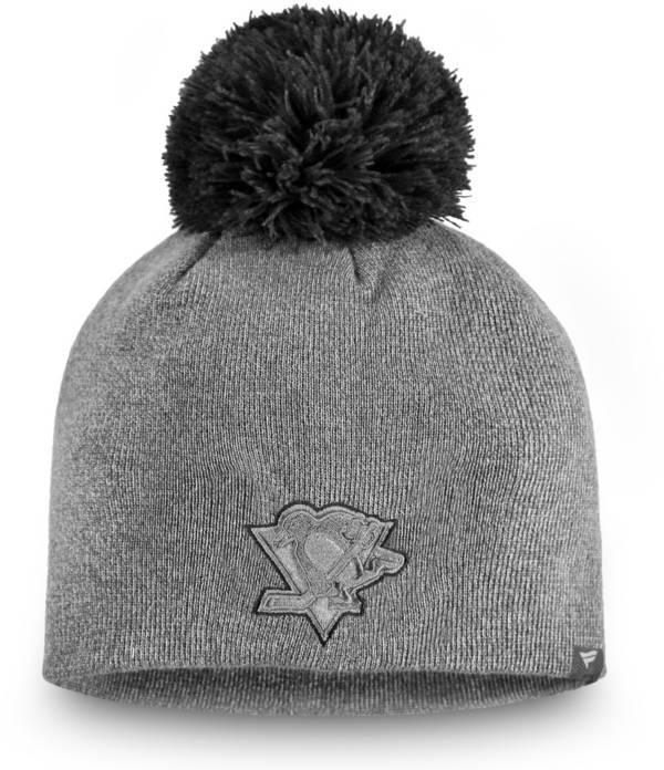 NHL Women's Pittsburgh Penguins Marled Pom Kit Beanie product image