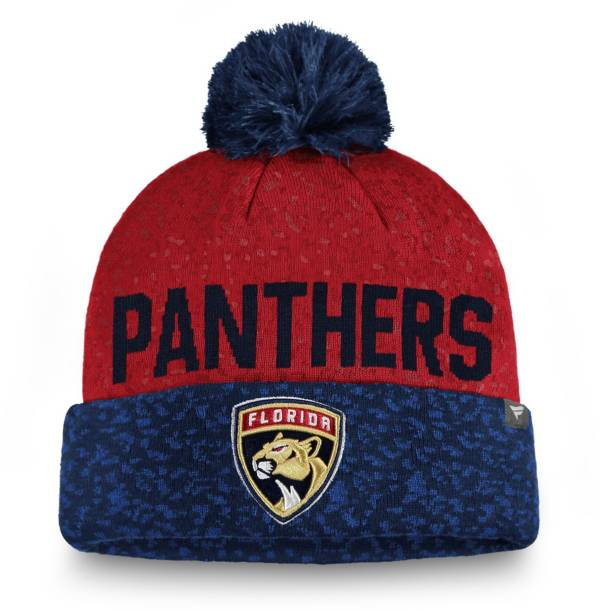 NHL Men's Florida Panthers Fan Weave Pom Knit Beanie product image