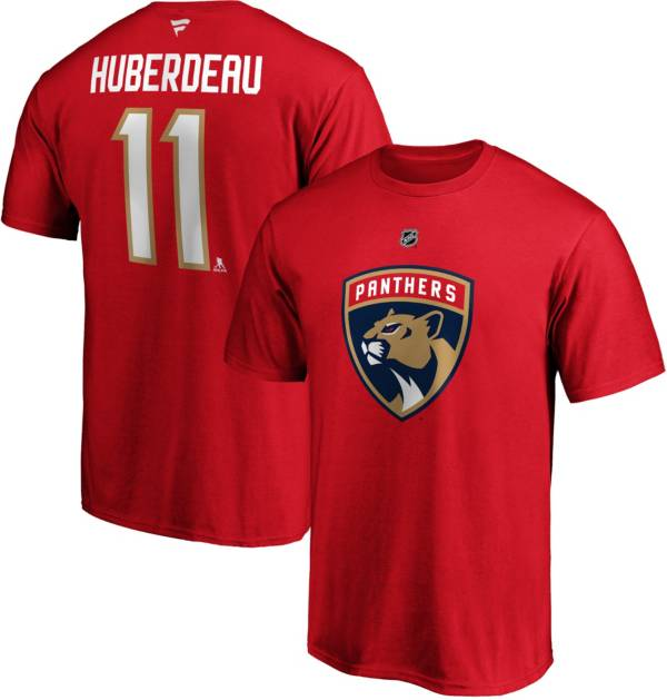 NHL Men's Florida Panthers Jonathan Huberdeau #11 Red Player T-Shirt product image