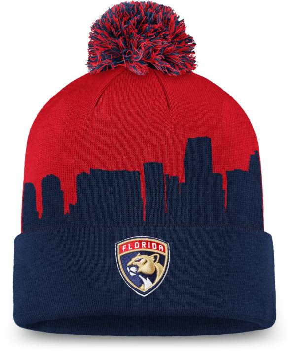 NHL Men's Florida Panthers Hometown Red Pom Knit Beanie product image