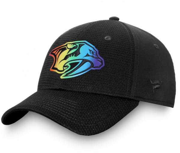 NHL Men's Nashville Predators Authentic Pro Pride Flex Hat product image