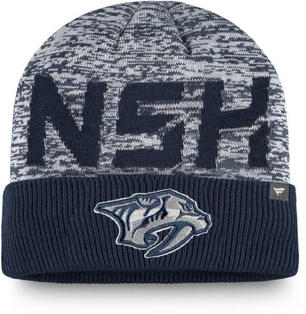 NHL Men's Nashville Predators Clutch Cuffed Knit Beanie product image