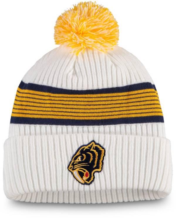NHL Men's 2020 Winter Classic Nashville Predators Team Pom Knit Beanie product image