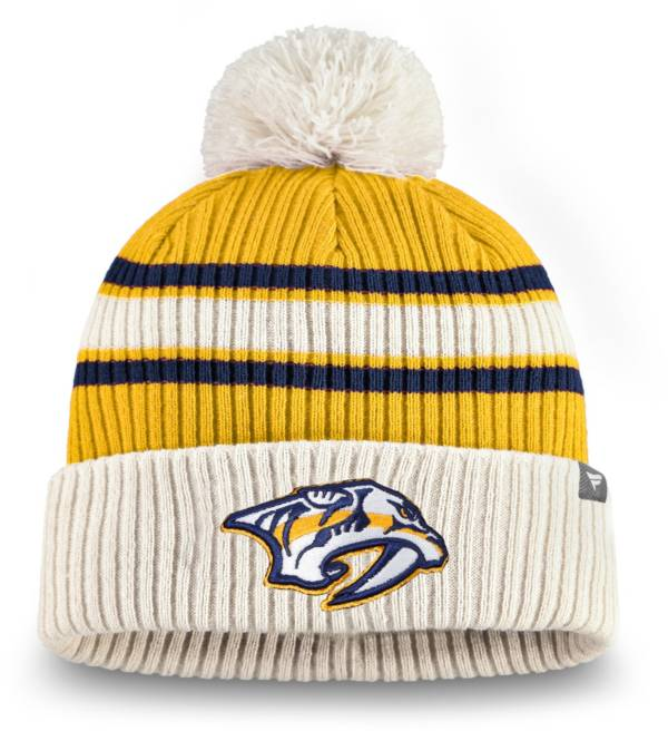 NHL Men's Nashville Predators Classic Pom Knit Beanie product image
