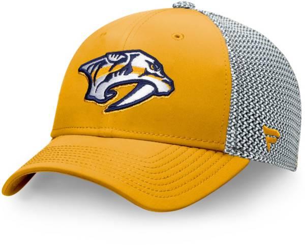 NHL Men's Nashville Predators Speed Gold Flex Hat product image