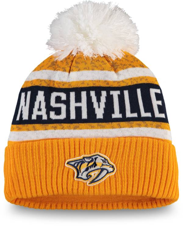 NHL Women's Nashville Predators Pom Knit Beanie product image
