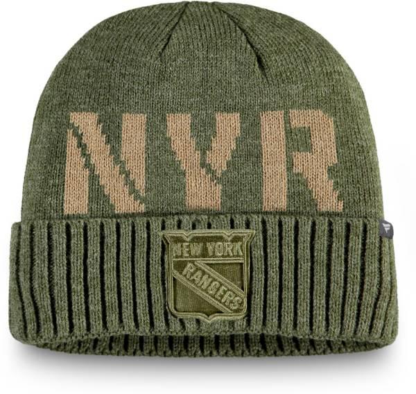NHL Men's New York Rangers Modern Utility Cuff Knit Beanie product image