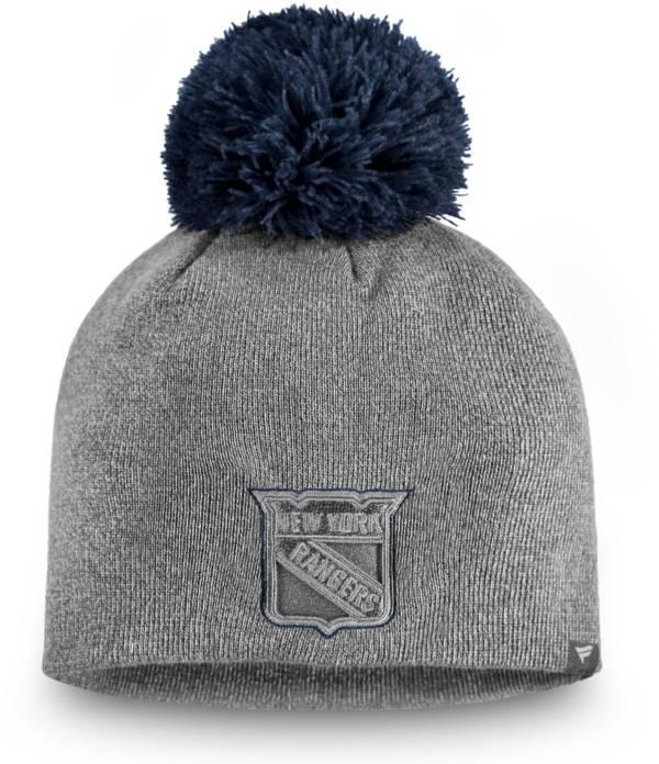 NHL Women's New York Rangers Marled Pom Kit Beanie product image