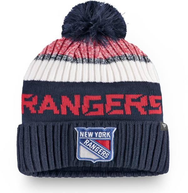 NHL Men's New York Rangers Rinkside Pom Knit Beanie product image
