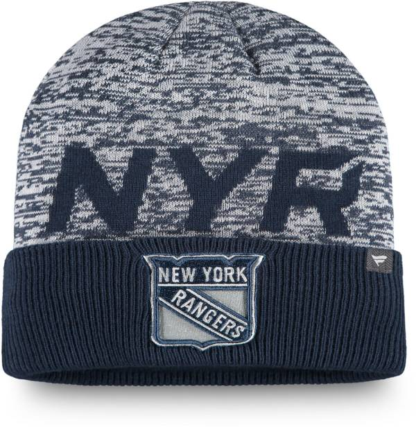 NHL Men's New York Rangers Clutch Cuffed Knit Beanie product image