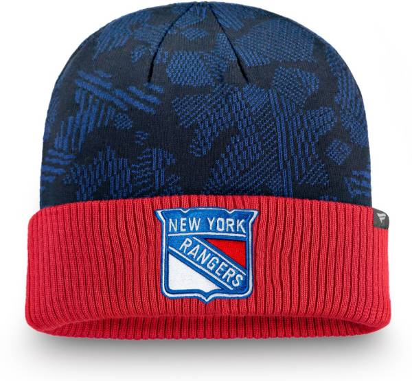 NHL Men's New York Rangers Iconic Cuff Knit Beanie product image