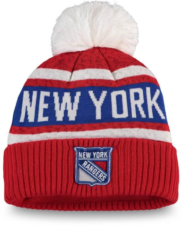 NHL Women's New York Rangers Pom Knit Beanie product image
