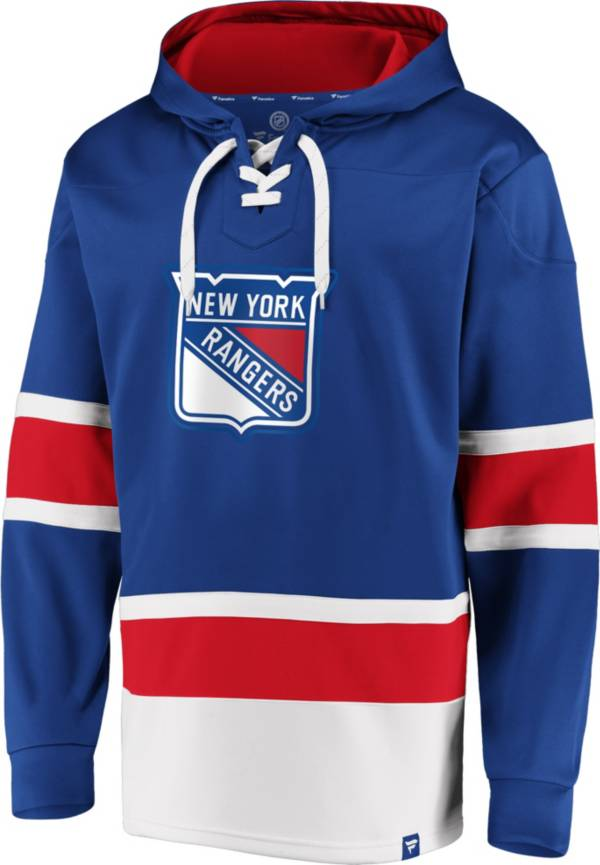 NHL Men's New York Rangers Power Play Royal Pullover Hoodie product image