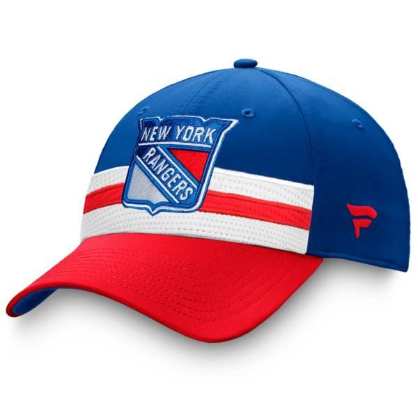 NHL Men's New York Rangers Authentic Pro Draft Royal Flex Hat product image