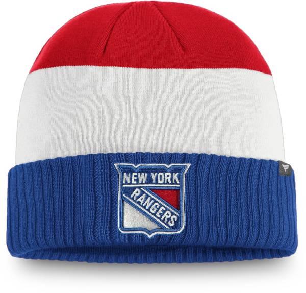 NHL Men's New York Rangers Alternate Cuff Knit Beanie product image