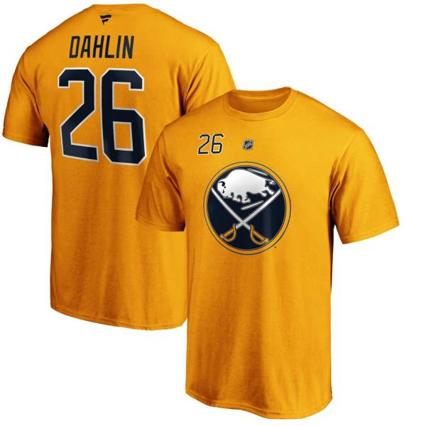 NHL Men's Buffalo Sabres Rasmus Dahlin #26 Black Player T-Shirt product image