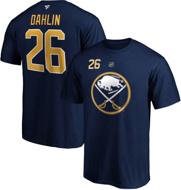 NHL Men's Buffalo Sabres Rasmus Dahlin #26 Navy Player T-Shirt product image