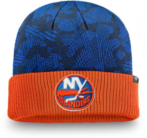 NHL Men's New York Islanders Iconic Cuff Knit Beanie product image